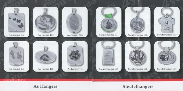 Folder Jocry - As-Hangers en Sleutelhangers